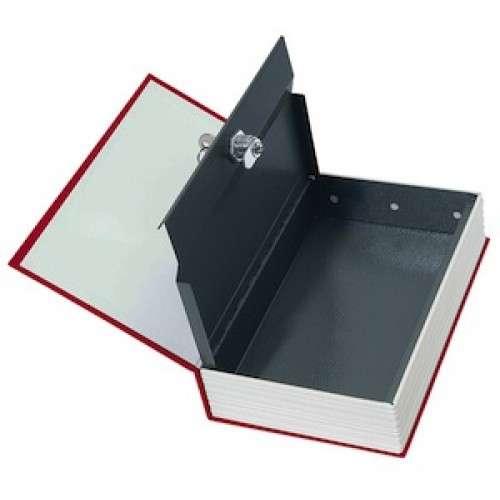 Rottner BOOKCASE - Rottner Comsafe BOOKCASE červená úschovná kazeta